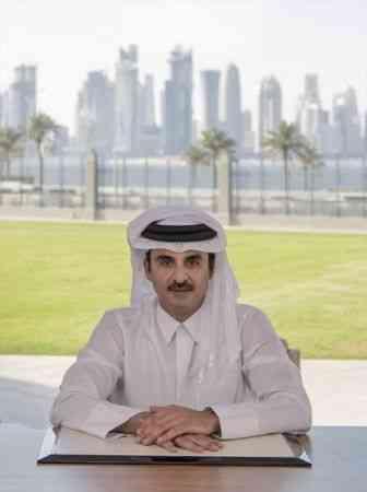 Katar Emiri Şeyh Temim bin Hamed Al Sani