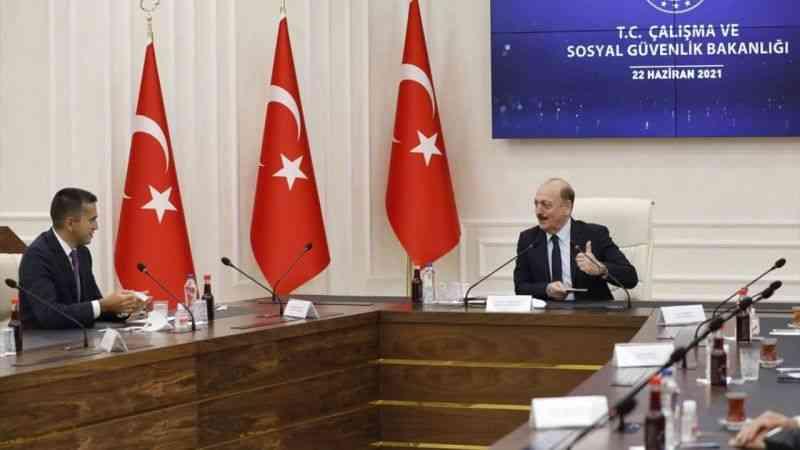 Çalışma ve Sosyal Güvenlik Bakanı Bilgin, TİSK Yönetim Kurulu üyelerini kabul etti