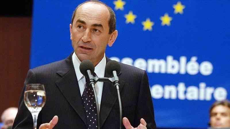 Ermenistan'ın eski Cumhurbaşkanı Koçaryan, seçim ihlalleri iddiasını Anayasa Mahkemesine taşıyacak