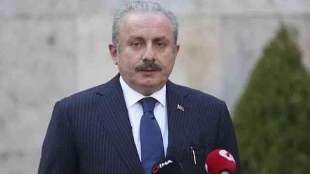 TBMM Başkanı Mustafa Şentop, GDAÜ PA 8. Genel Kurul Toplantısı'nda konuştu
