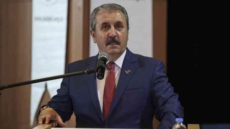 BBP Genel Başkanı Destici, Ankara Sivaslı Dernekler Federasyonunun Genel Kurulu'na katıldı