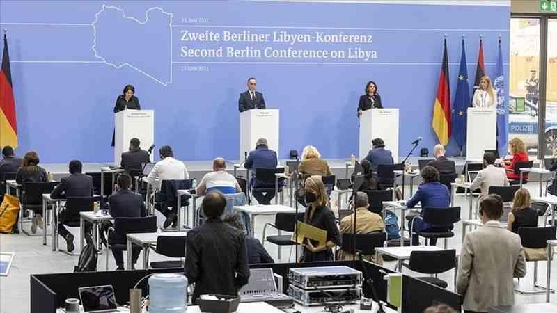 Berlin'deki İkinci Libya Konferansı'nda ülkedeki istikrar ve güvenlik konuları görüşüldü
