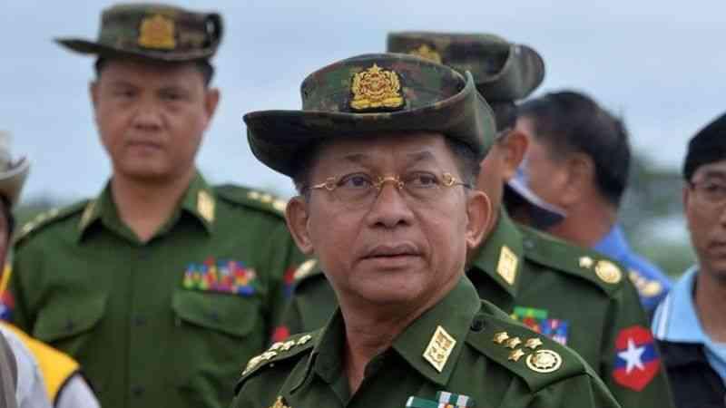 Myanmar'ın darbeci komutanı General Hlaing, Moskova'daki güvenlik konferansına davet edildi