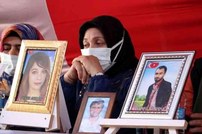 Diyarbakır anneleri evlat nöbetini kararlılıkla sürdürüyor