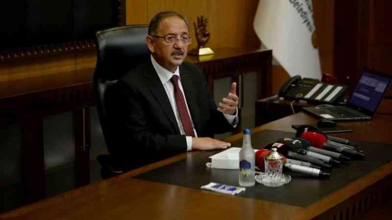 AK Parti Genel Başkan Yardımcısı Mehmet Özhaseki, CHP'li belediye başkanlarını eleştirdi