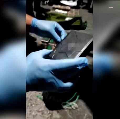 Mersin'e gönderilen kokaini sahipleri GPRS ile izlemiş
