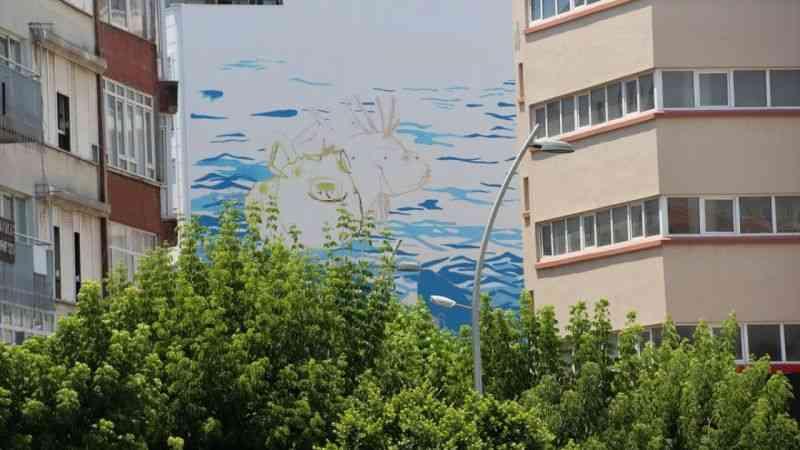 """""""Turizmin başkenti"""" Antalya'da duvarlar """"mural art"""" ile renkleniyor"""
