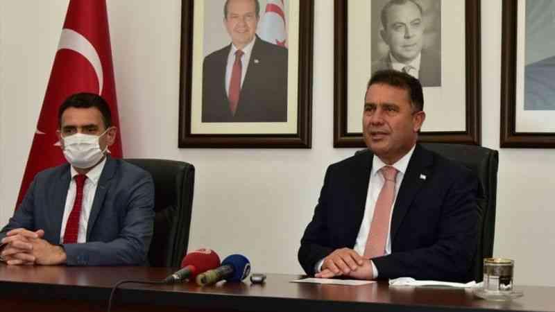 """KKTC Başbakanı Saner: """"Türkiye ile Kıbrıs konusunda tam bir mutabakat içindeyiz"""""""