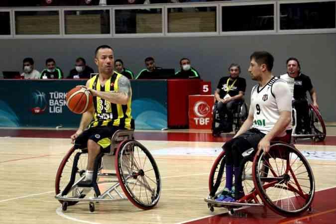 Tekerlekli Sandalye Basketbol Süper Ligi play-off yarı final serileri başladı