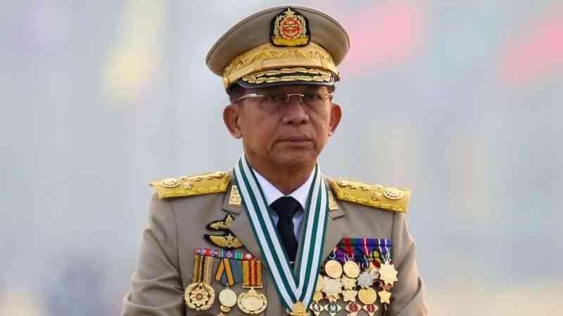 Myanmar'ın askeri yönetim lideri General Hlaing, içişlerine karışan ülkeleri eleştirdi