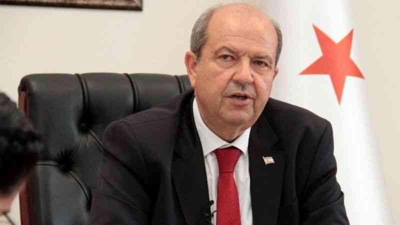 """Tatar: """"Kıbrıs Türk halkı, hiçbir zaman dayatma ve empoze bir çözümü kabul etmeyecektir"""""""