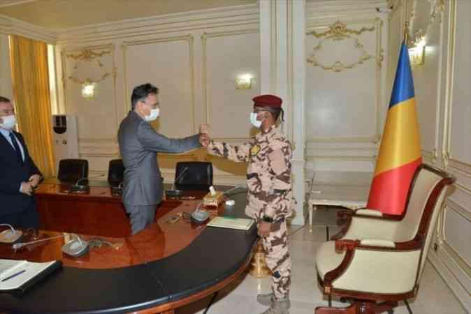 Çad Devlet Başkanı Itno, Türkiye ile ilişkileri daha da ileriye götürmek istediklerini belirtti