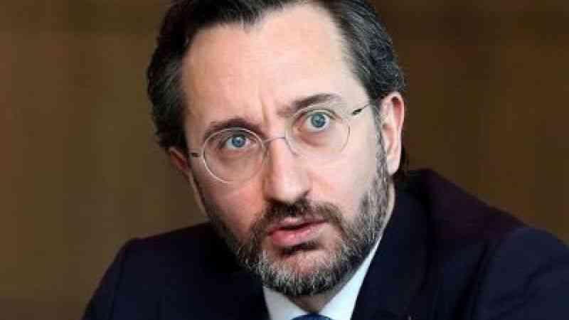 İletişim Başkanı Altun: ''Sınavsız TIP fakültesi protokolü sadece dost silahlı kuvvetler mensuplarını kapsamaktadır''