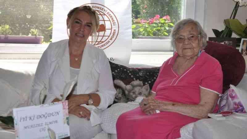 Dünyaca ünlü Sümerolog Muazzez İlmiye Çığ, 108 yaşına girdi
