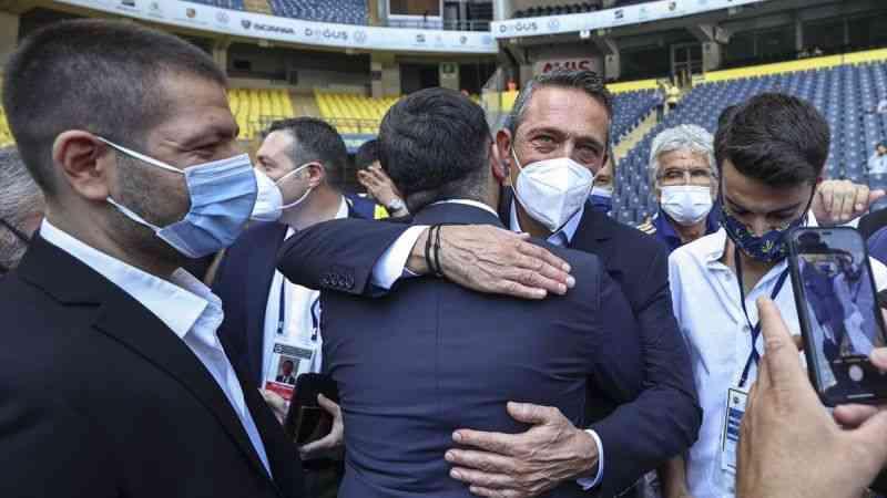 """Fenerbahçe'de yeniden başkanlığa seçilen Ali Koç: """"Yeni döneme yelken açıyoruz"""""""