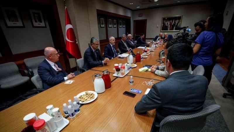TBMM Dışişleri Komisyonu heyeti Washington temaslarında Türk-Amerikan ilişkilerini masaya yatırdı