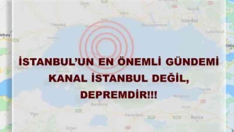 İnşaat Mühendisleri Odası'ndan Kanal İstanbul uyarısı: Kenti tümüyle kaos içine sokacak