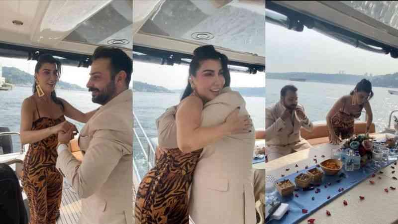 Ada Demir'den Hande Yener'li doğum günü kutlaması
