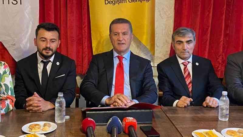 Mustafa Sarıgül: ''İsrafın iktidarlığını biz bitireceğiz''