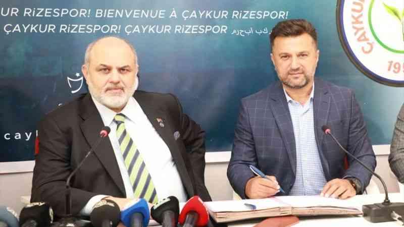 Çaykur Rizespor, Teknik Direktör Bülent Uygun ile 3 yıllık sözleşme imzaladı