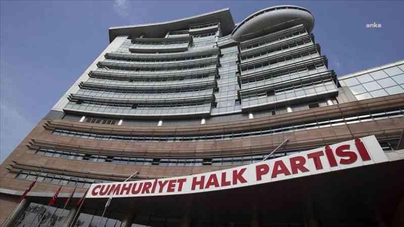 """CHP'den """"güçlendirilmiş demokratik parlamenter sistem"""" için ilk adım"""