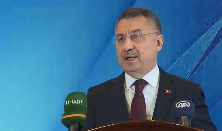 Cumhurbaşkanı Yardımcısı Oktay, Özbekistan Başbakan Yardımcısı Umurzakov ile ortak basın toplantısında konuştu