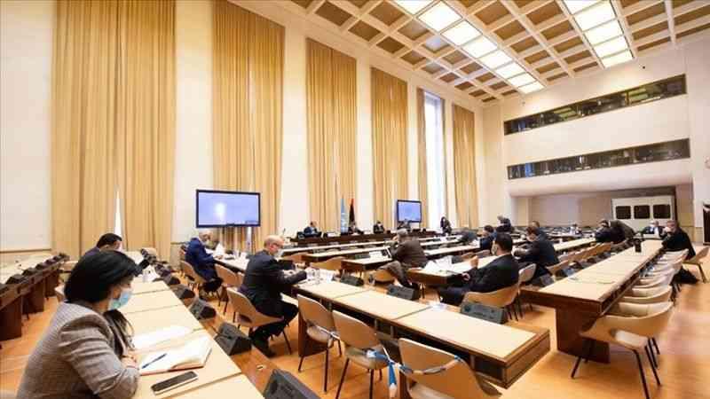 Libyalı taraflar, 24 Aralık seçimlerinin anayasal temelini görüşmek üzere Cenevre'de bir araya geldi