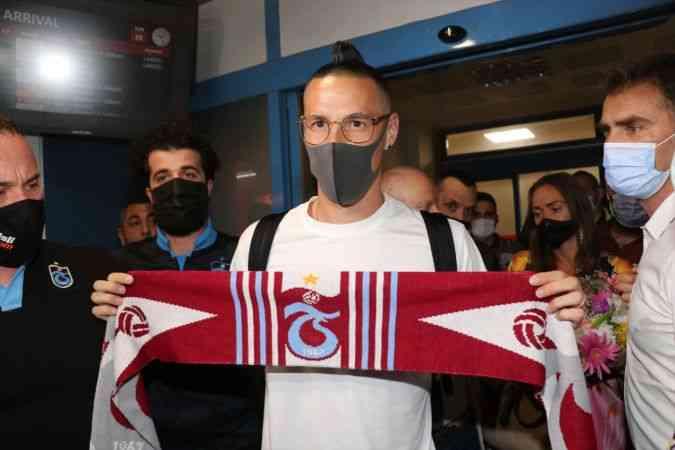 Trabzonspor'un yeni transferi Marek Hamsik, Trabzon'a geldi