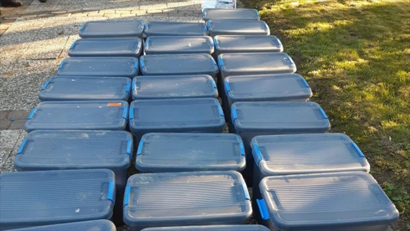 Hollanda'da bir çiftlik evinde 3 ton kokain ele geçirildi