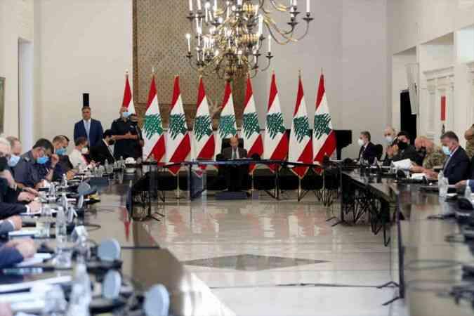 Lübnan Cumhurbaşkanı Avn