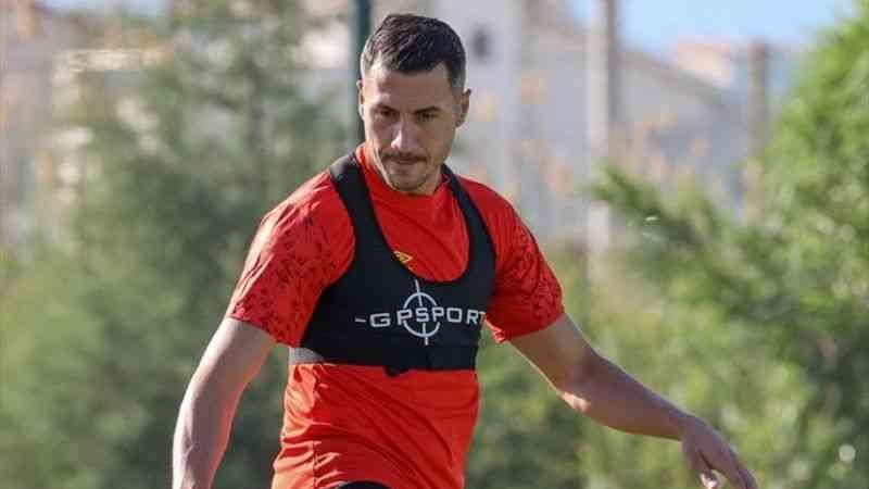 """Göztepeli futbolcu Adis Jahovic: """"İyi performans sergilemek için her şeyi yapacağız"""""""