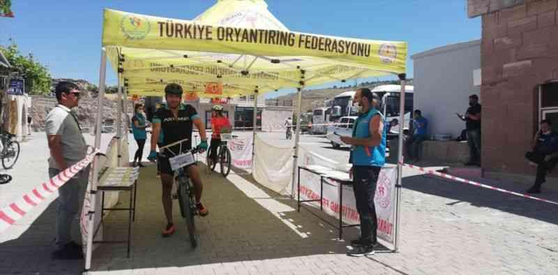 Türkiye Bisikletle Oryantiring Şampiyonası, Aksaray'da sona erdi