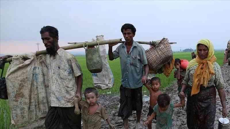 """Arakanlı Müslümanlardan uluslararası topluma """"Myanmar'daki cuntaya baskı yapın"""" çağrısı"""