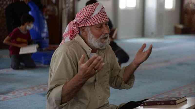 Suriyeliler barınma merkezinde bayrama hazırlanıyor