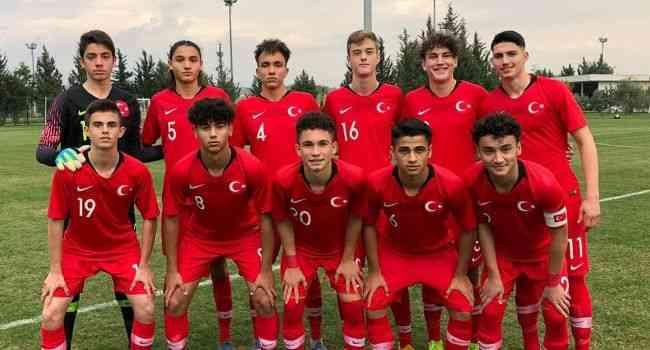 16 Yaş Altı Milli Futbol Takımı'nın aday kadrosu açıklandı
