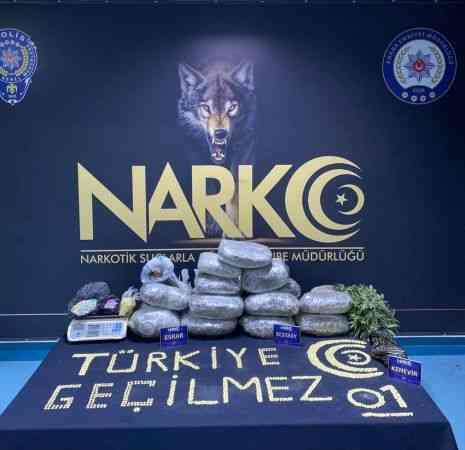 Adana'da uyuşturucu operasyonlarında 163 zanlı yakalandı