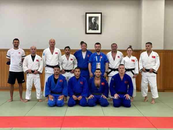 Milli judocular, Tokyo'da ilk çalışmasını yaptı