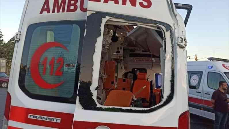 Kahramanmaraş'ta ambulansla otomobil çarpıştı: 4 yaralı