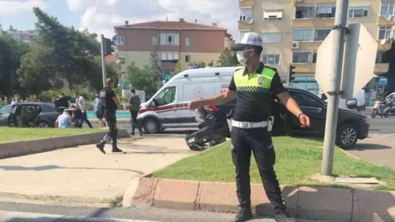 TBMM Başkanı Mustafa Şentop'un konvoyunda kaza