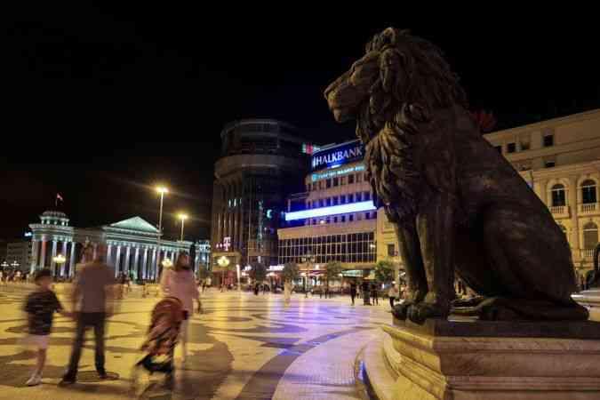 Üsküp'ün yeni yüzü: Makedonya Meydanı