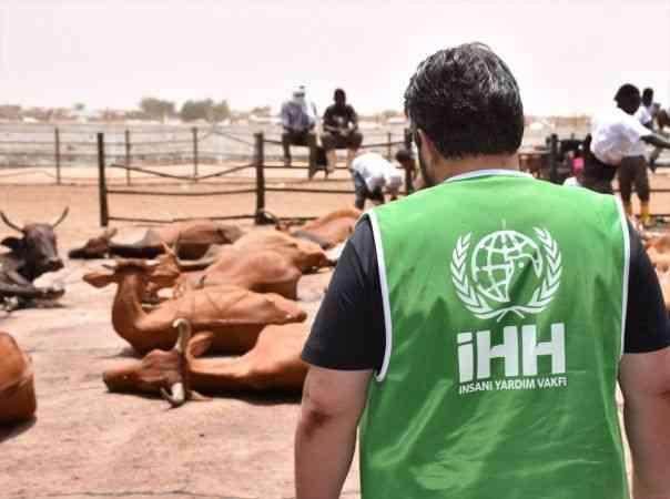 İHH, Moritanya'da 210 hisse kurbanı ihtiyaç sahiplerine ulaştırdı