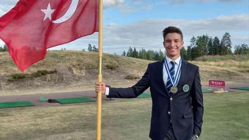 "Milli golfçü Can Gürdenli ""European Young Masters""da bronz madalya kazandı"