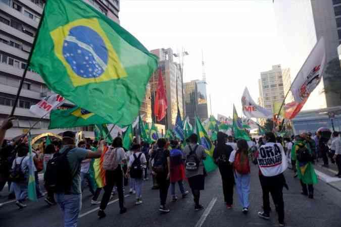 Brezilya'da Devlet Başkanı Bolsonaro karşıtı gösteri düzenlendi