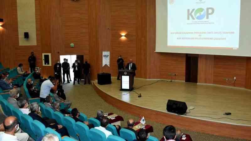 KOP bölgesine 10 yılda 2 milyar liranın üzerinde mali destek sağlandı