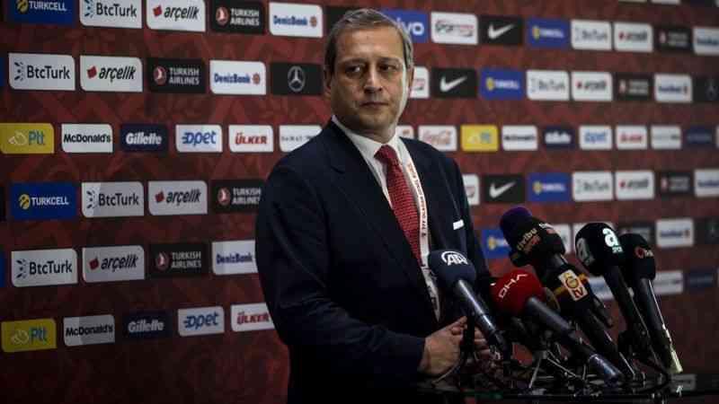 Galatasaray Kulübü Başkanı Burak Elmas