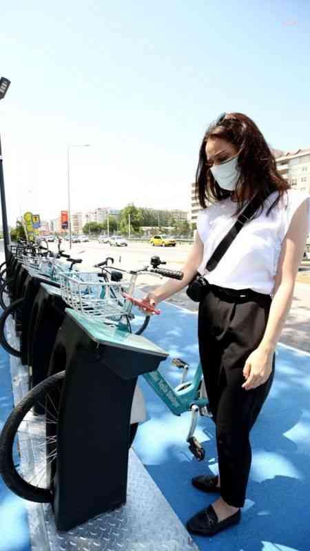 """Nilüfer Belediyesi'nin akıllı bisiklet kiralama sistemi """"Nilespit""""e ilgi artıyor"""