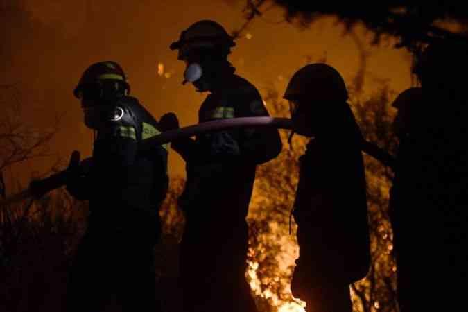 Yunanistan'da yeni orman yangınları çıktı