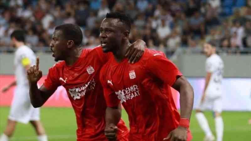 Dinamo Batum: 1 Demir Grup Sivasspor: 2