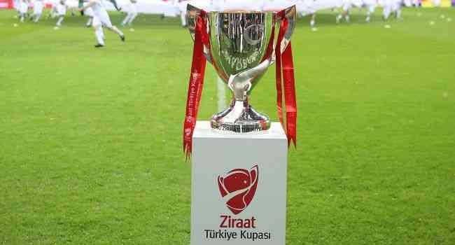 Ziraat Türkiye Kupası'nda 2021-2022 sezonu maç takvimi belli oldu