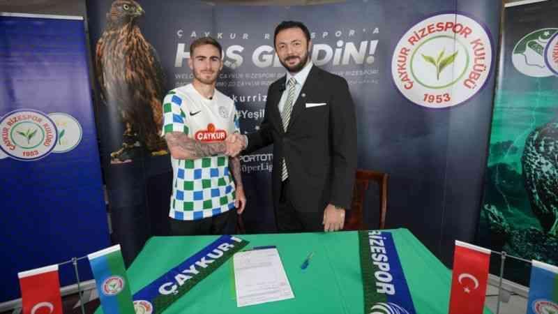 Çaykur Rizespor, Beşiktaş'tan Tyler Boyd'u 1 yıllığına kiraladı